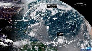 Small window of opportunity exists for disturbance in Atlantic to organize