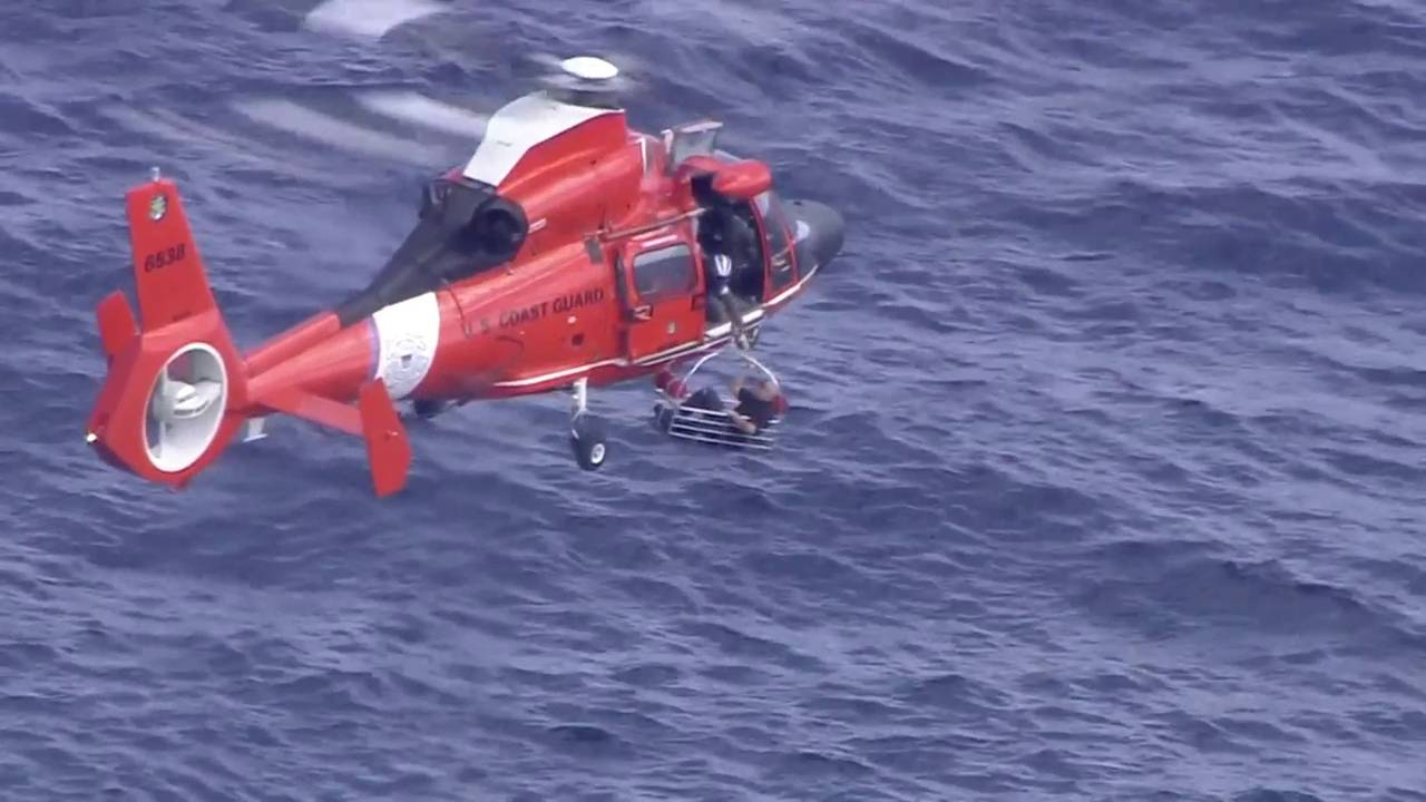 Coast Guard suspends search for pilot who crashed off Bay