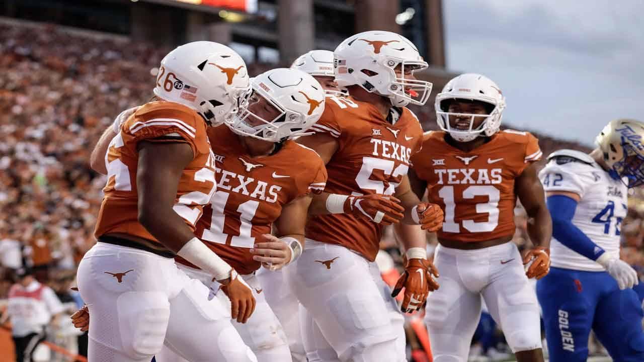 Texas Longhorns uniforms 2018