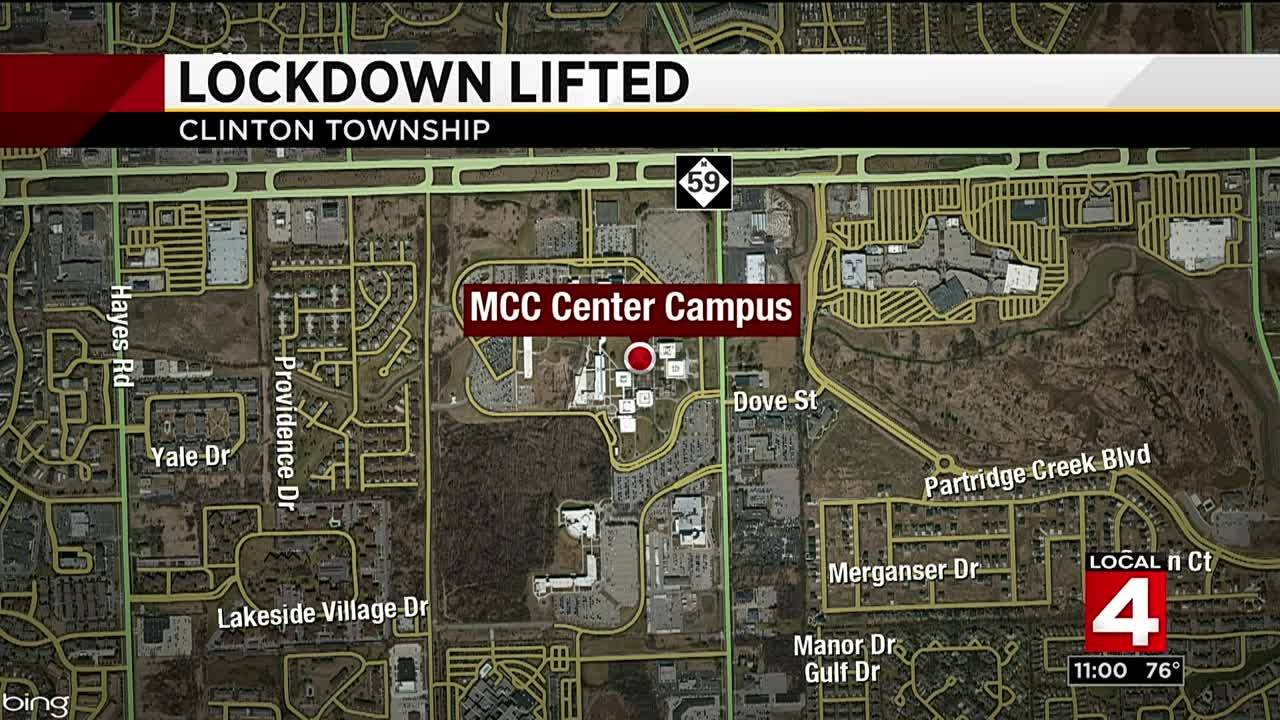Lockdown lifted at Macomb County Community College after... on tucson medical center campus map, western illinois campus map, wichita state university campus map, western university campus map, south mountain community college map, community hospital south campus map, tallahassee community college map, ann arbor michigan campus map, mcc campus map, washtenaw community college map, glendale community college map, broward college map, wcc campus map, university of south carolina campus map, ecc south campus map, froedtert medical center campus map, ferris state university campus map,