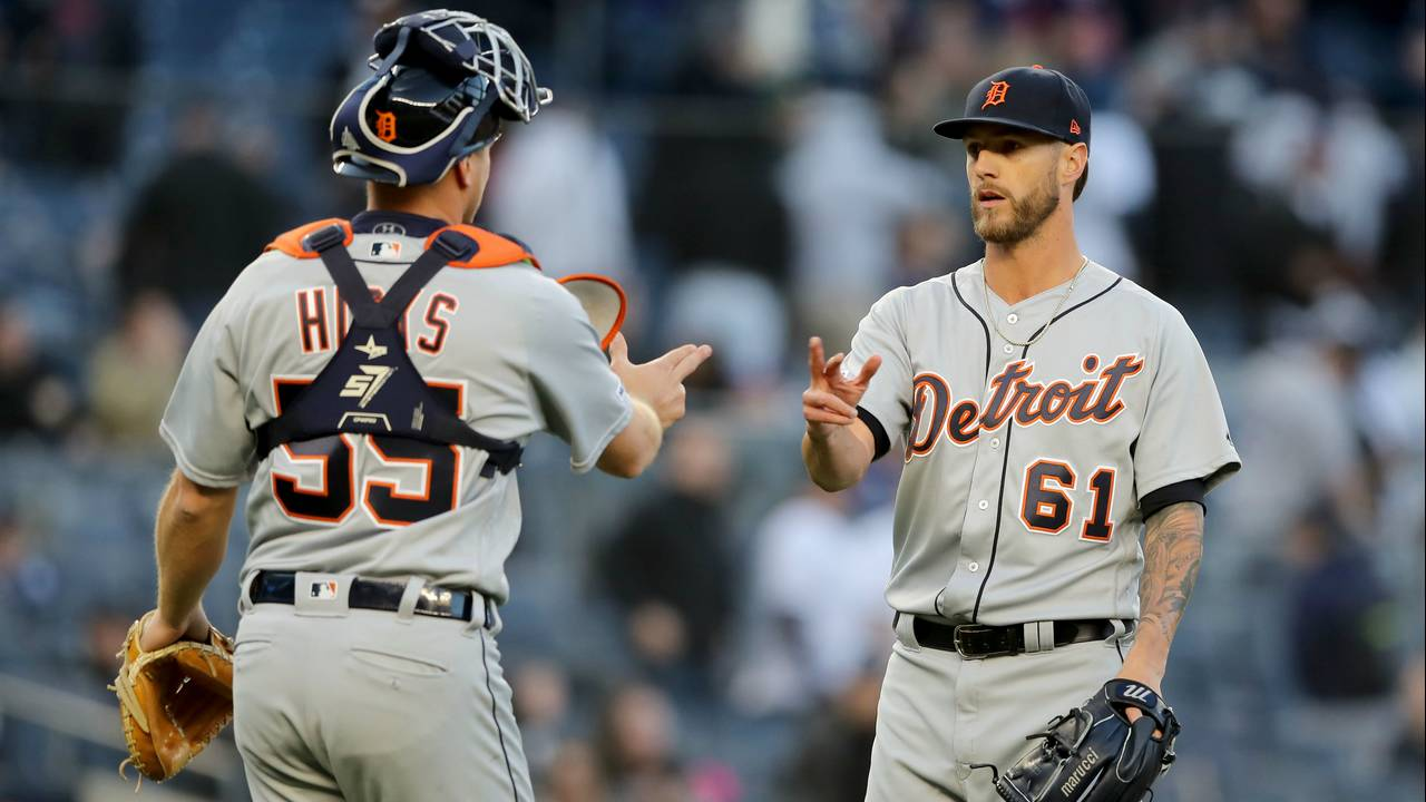 Shane Greene Detroit Tigers vs Yankees 2019