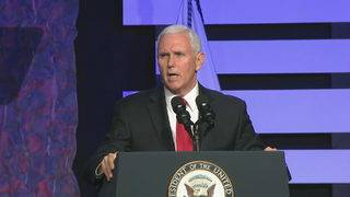 Pence in Florida: Time to end Maduro regime in Venezuela