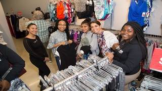 Perry Ellis International hosts shopping spree for South Florida families