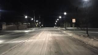 Overnight re-freezing causes dangerous conditions on roadways