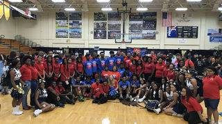 Jacksonville celebrity team wins charity basketball game