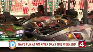 Have fun at GM River Days this weekend