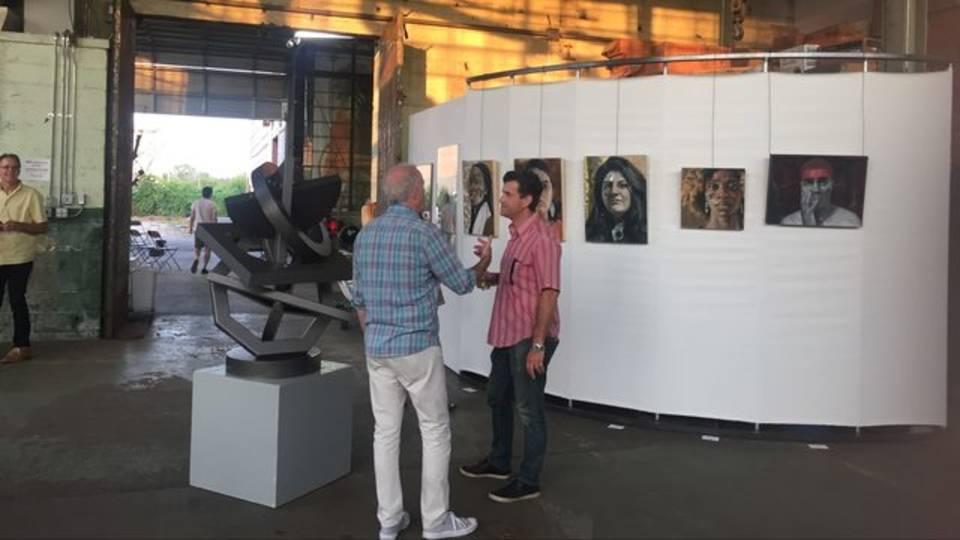 Big Art Show sculpture