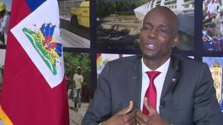 Moise wants to accomplish vision for rebuilding Haiti