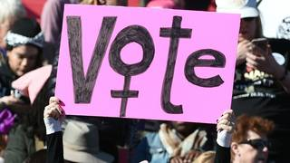 Thousands of women have one message: Vote