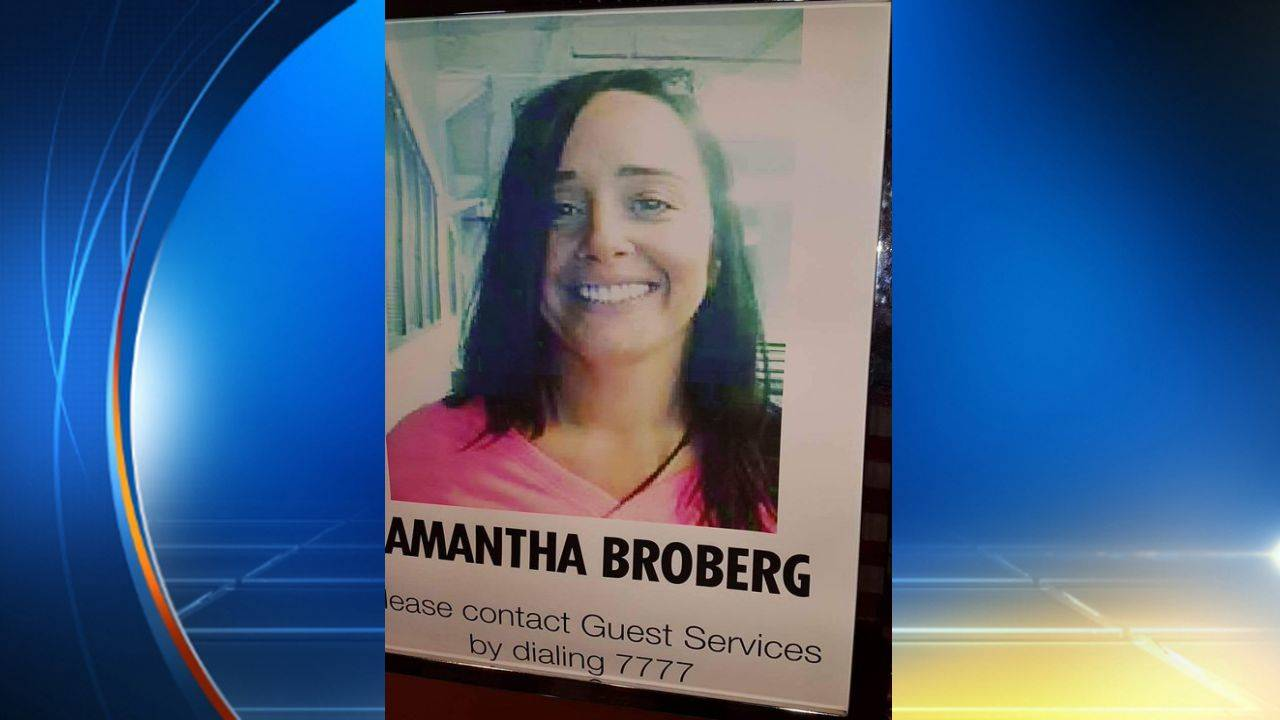 Samantha Broberg missing from Carnival cruise