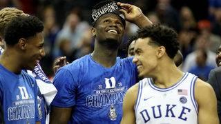 NCAA announces tournament's No. 1 seeds