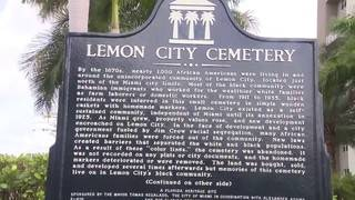 Historical markers unveiled at site of former Lemon City Cemetery