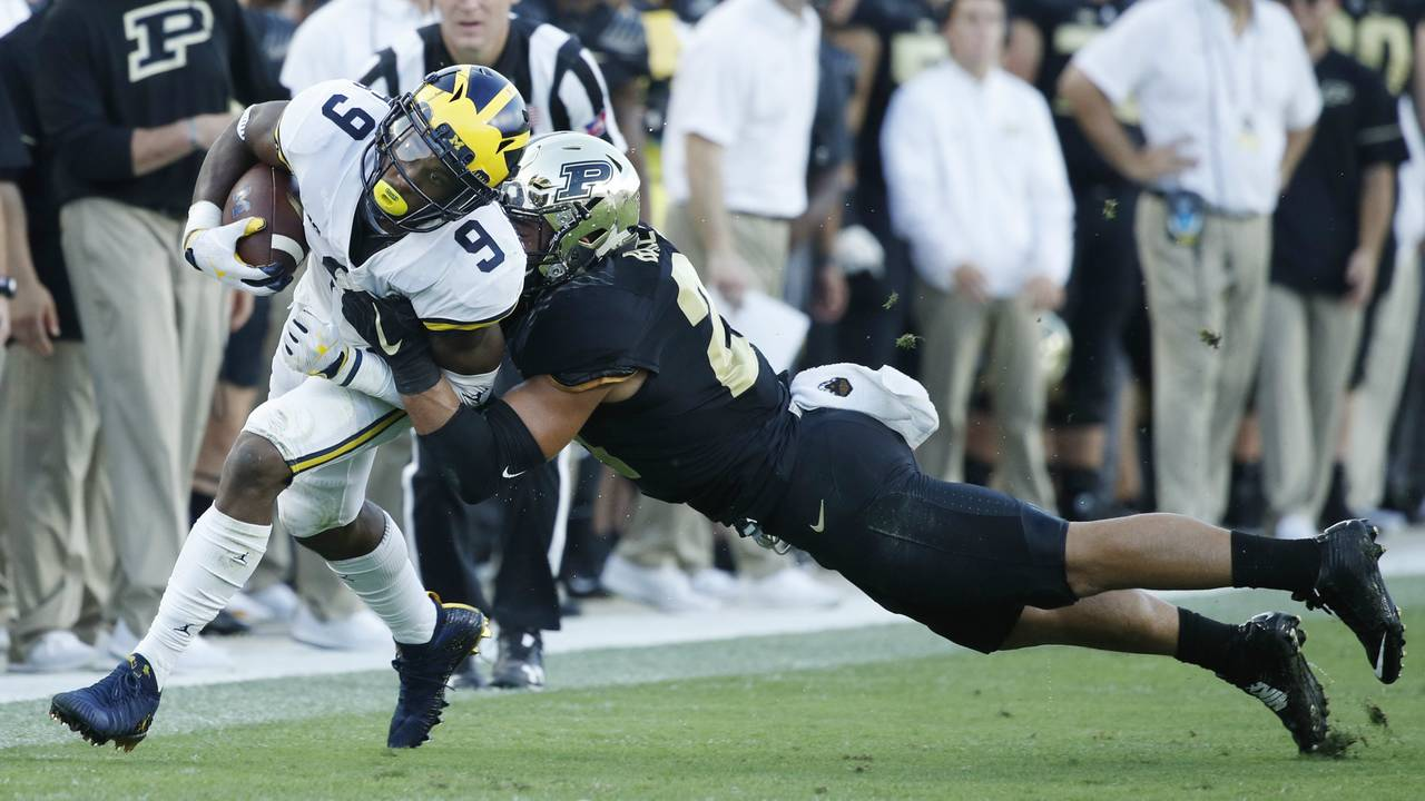 Donovan Peoples-Jones Michigan football vs Purdue 2017