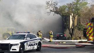 Plane crashes into therapy center, killing 2 people on board