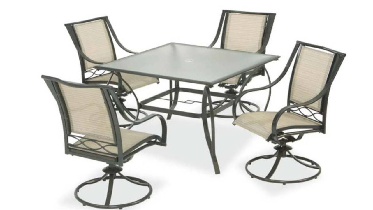Swivel Patio Chairs Sold At Home Depot Recalled For Fall Hazard