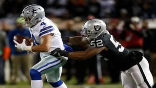 Dallas Cowboys edge Raiders 20-17 by slimmest of margins