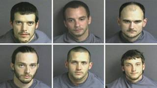 Six men face combined 31 charges in connection with series of Franklin&hellip&#x3b;