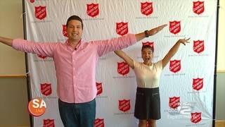 Olympic Gold Medalist Shares Positivity, Kindness with San Antonio, Texas