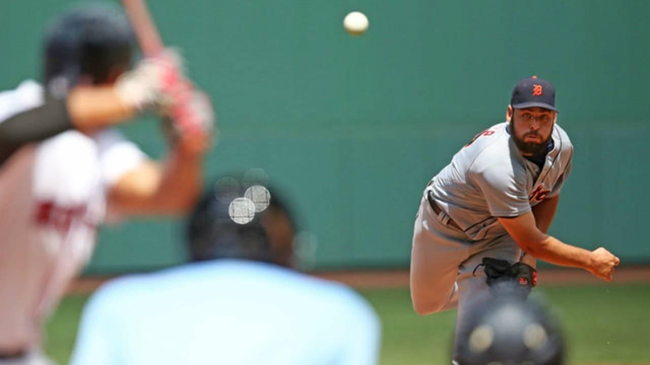 Michael Fulmer Detroit Tigers vs Red Sox 2016