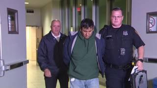 Murder suspect left note saying victim was having affair, affidavit says