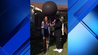 Video: Watch as confusing gender reveal leads to creative proposal