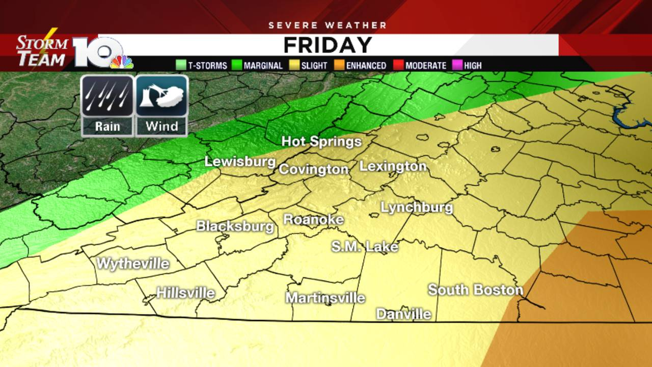Pleasant Wednesday, Thursday, severe weather, flooding...