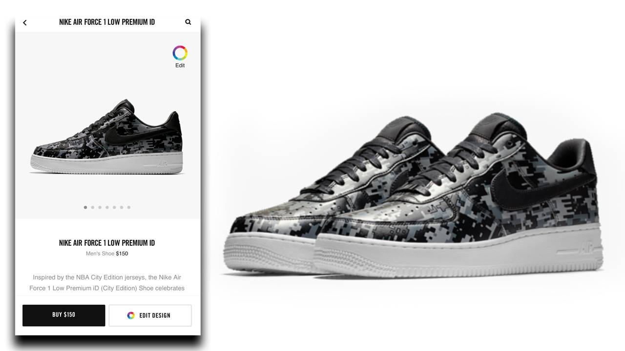 best sneakers ac0a2 746a1 SAN ANTONIO - This week, Nike dropped its Air Force 1 Low Premium iD (City  Edition) sneakers, an extension of the NBA City Edition products.