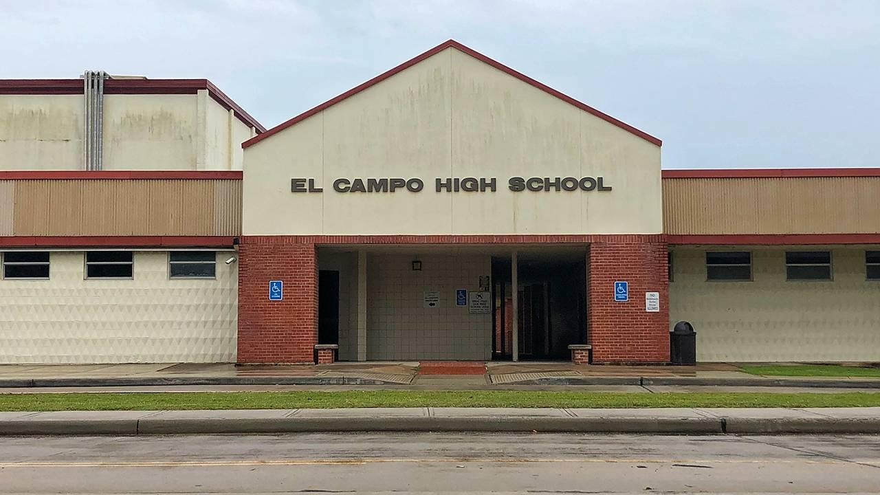 El Campo High School exterior generic