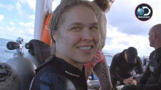 Ronda Rousey Faces One of Her Biggest Fears in &#039&#x3b;Shark Week&#039&#x3b; Special