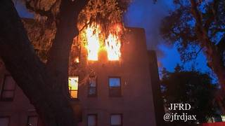 Fire damages several units at Riverside complex