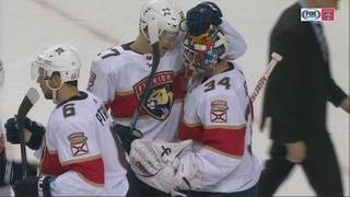 Panthers one point out of playoff spot after 3-0 win at Islanders