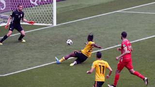 Romelu Lukaku and Eden Hazard star as Belgium routs Tunisia