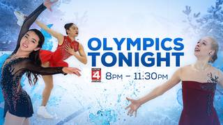 Women's Figure Skating tonight on Local 4!