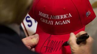 Man says he was kicked out of bar for MAGA hat