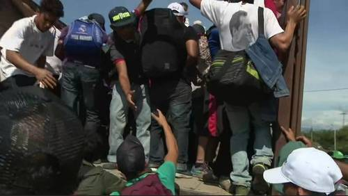 'There's no work': Migrants explain why caravan is headed to US-Mexico border