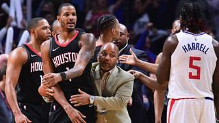 NBA to investigate alleged Rockets-Clippers incident
