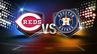 Astros fall to Reds 4-2