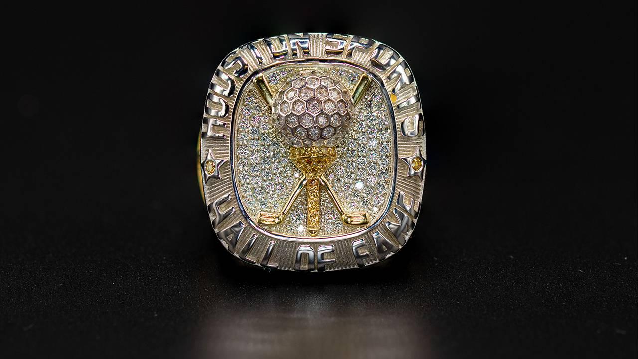 Jackie Burke Houston HOF ring