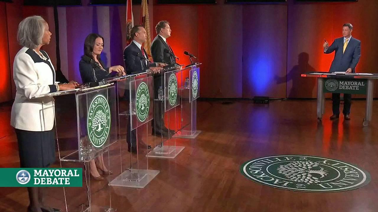 Mayor candidates debate with Kent