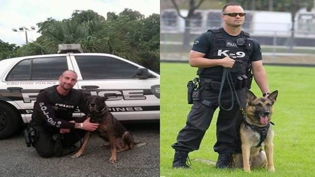 2 K-9s retire from Pembroke Pines Police Department