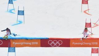Switzerland wins inaugural Olympic Alpine skiing team event