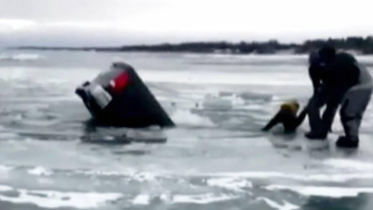 Incident Hened At Lexington Harbor On Lake Huron