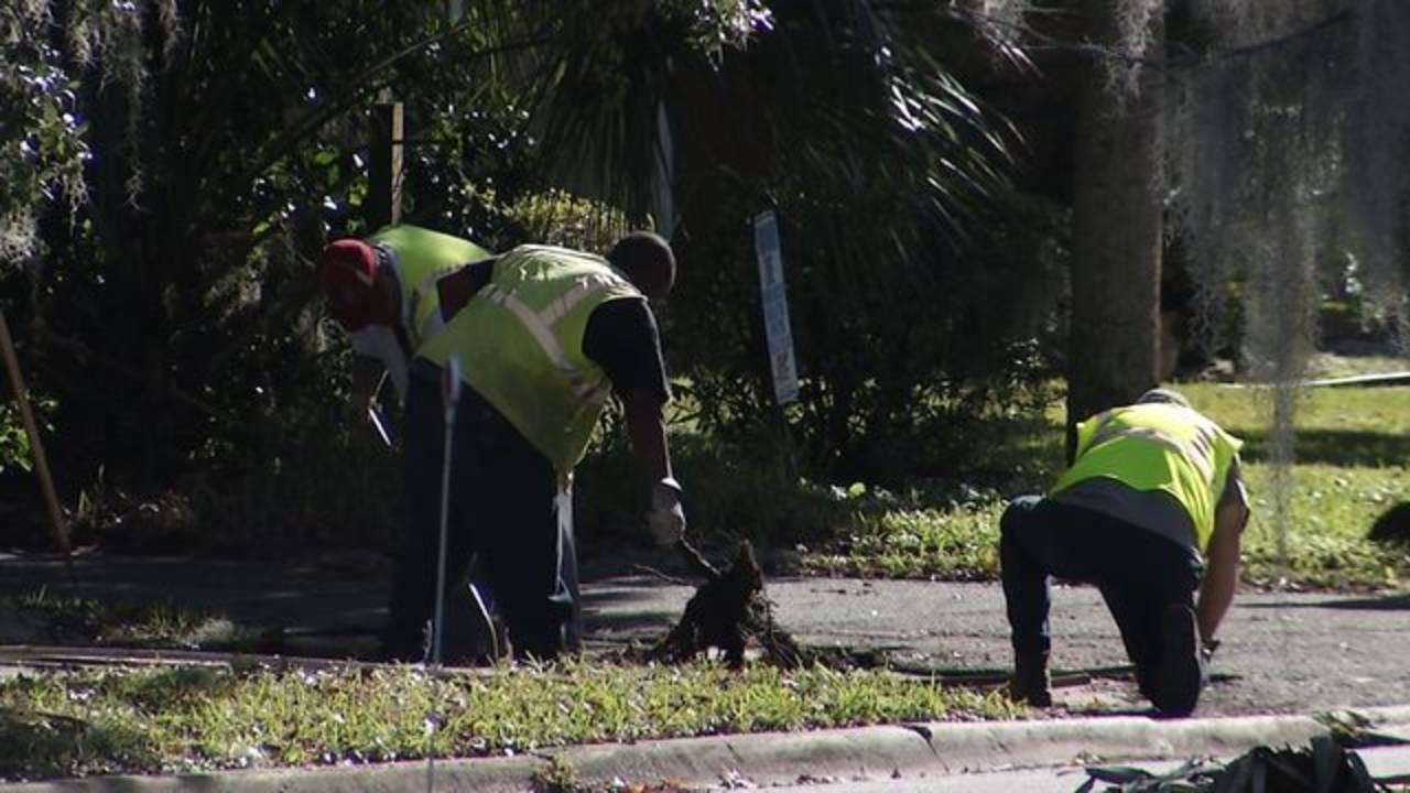 Workers Sidewalk
