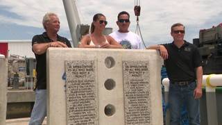 New artificial reef created in memory of teen killed in boating accident