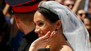 Meghan Markle's ring made of Welsh gold given by the Queen