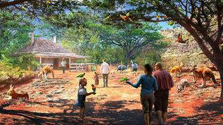 Renderings show expansion plans for San Antonio Zoo
