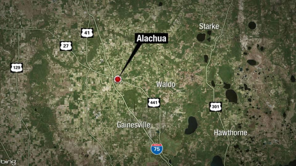 City of Alachua map