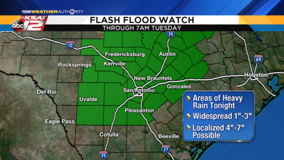 Flash Flood Watch Info - April 10