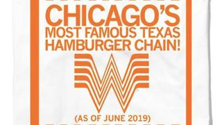 Whataburger 'belongs to Chicago' shirt now on sale online