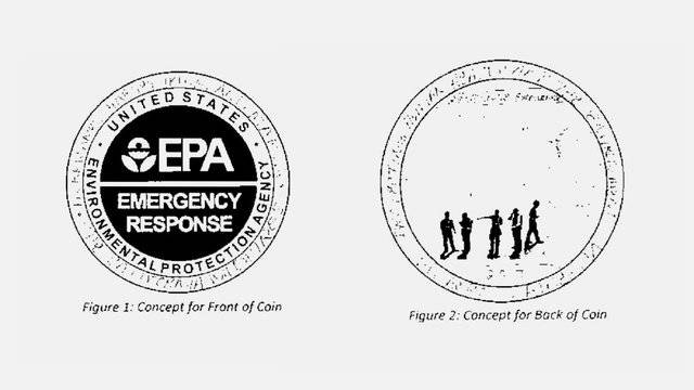 EPA commissions a challenge coin for 2017 disaster responders